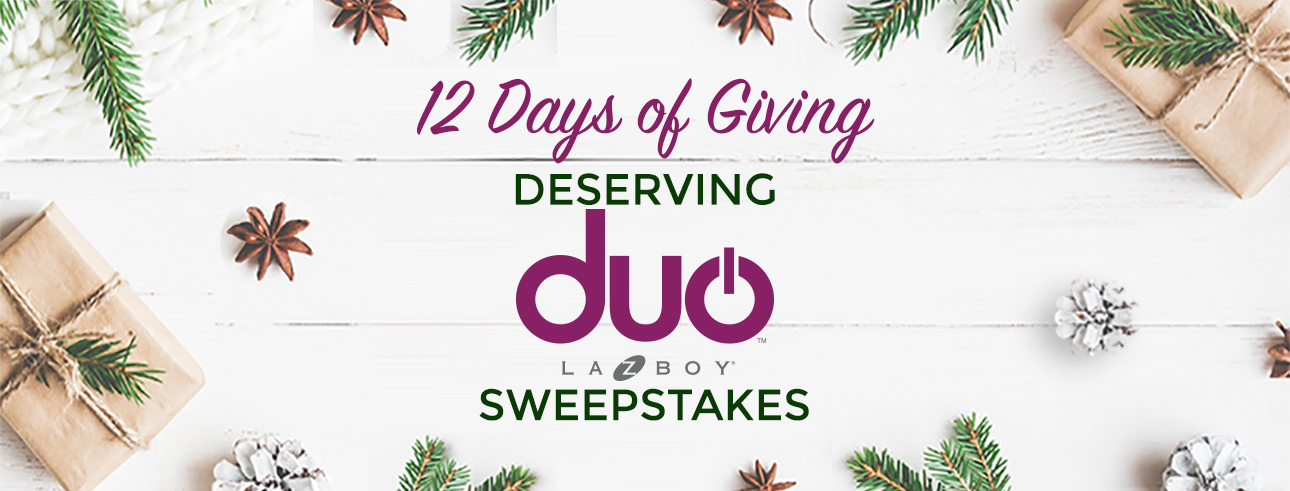 12 Days of Giving Sweepstakes